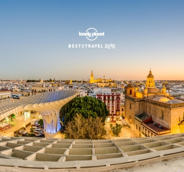 "Sevilla ""Best in travel 2018"""