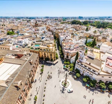 Sevilla from the Giralda