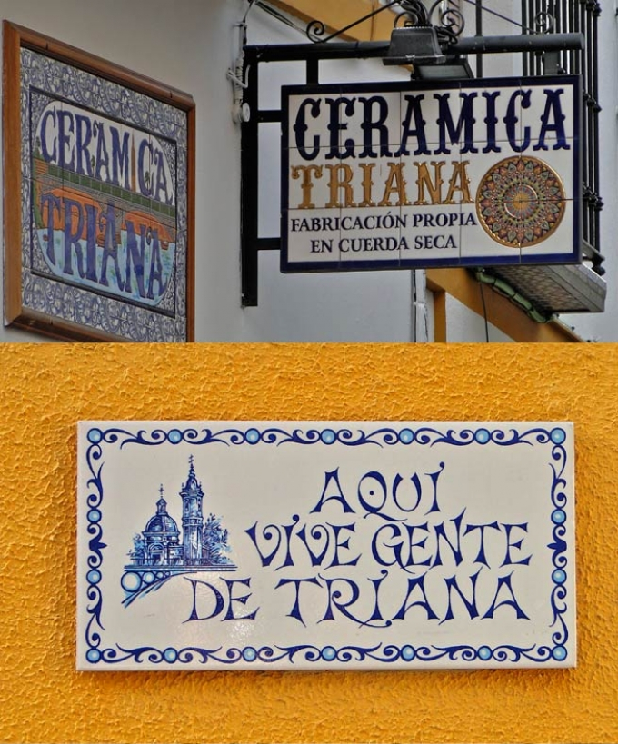 Ceramics in Triana, Seville