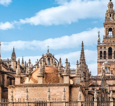 The Giralda, the Cathedral and the Alcazar